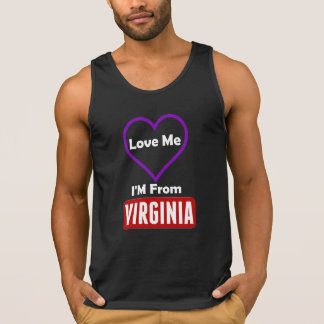 Love Me, I'M From Virginia Singlet