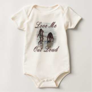 Love me Out Loud Baby Baby Bodysuit