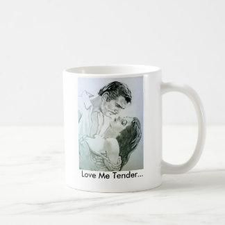 Love Me Tender Mug... Basic White Mug