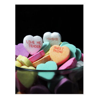 Love Me Tender Sweet Thing XO Postcard