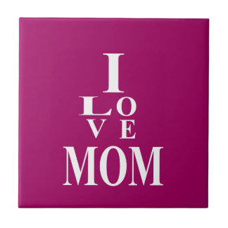 Love MoM Images Ceramic Tiles