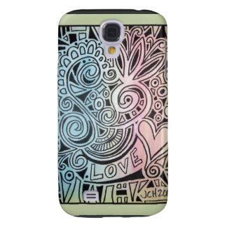 Love Mosaic Galaxy S4 Case
