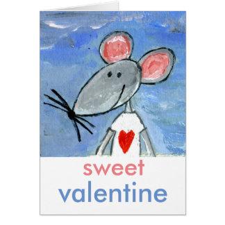 Love Mouse Valentine Card