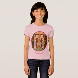 LOVE MUSIC, FRENCH PIANO LESSON VINTAGE KIDS CHOIR T-Shirt