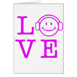 LOVE MUSIC GREETING CARD