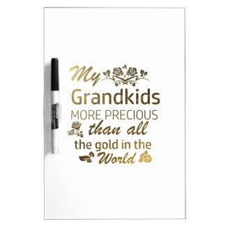 Love my Grandkid designs Dry Erase Board