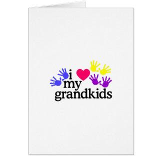 Love My Grandkids Card