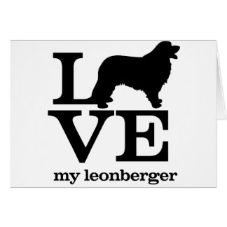 Love my Leonberger Card