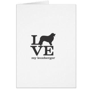 Love My Leonberger Card