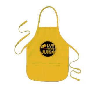 Love My Moo Juice template Valxart.com Kids Apron