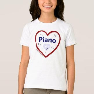 Love: My Piano T-Shirt