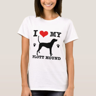 Love my plott hound T-Shirt