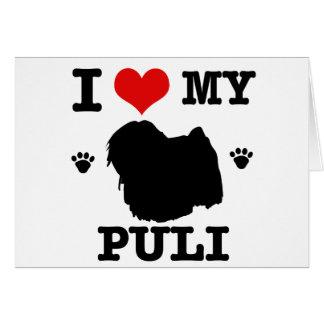 Love my Puli Card