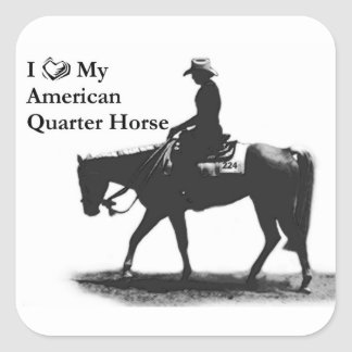 Love my QH mouse pad Square Sticker