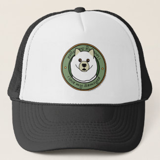Love My Samoyed Trucker Hat