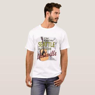 Love Nashville from Seattle T-Shirt