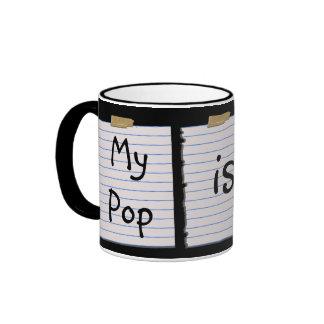 Love Notes For Pop Ringer Mug