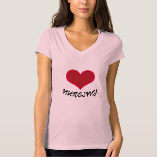 Love Nursing T-Shirt Pink Don't Forget Leggings