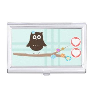 Love Owl Business Card Holder