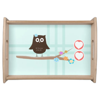 Love Owl Serving Tray