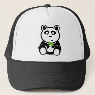 Love panda bear trucker hat