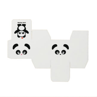 Love Panda® favor boxes Wedding Favour Boxes