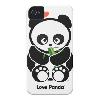 Love Panda® iPhone 4/4S Case-Mate Barely There™ iPhone 4 Case-Mate Case