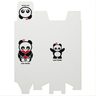Love Panda® Wine Bottle Boxes