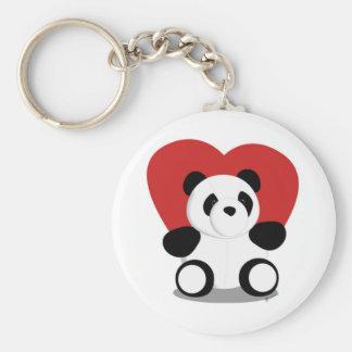Love Pandas Key Chains