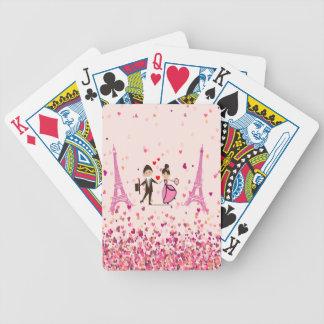 LOVE PARIS BICYCLE PLAYING CARDS