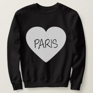 Love Paris heart Sweatshirt