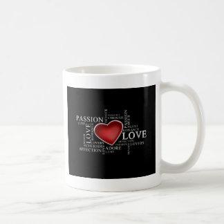 love passion romance mug