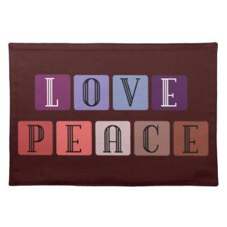 Love-Peace PlaceMat