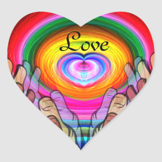 Love,Peace & Unity_ Sticker