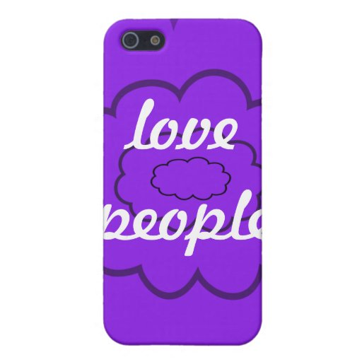love people case for iPhone 5