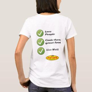 Love People Ladies T-Shirt