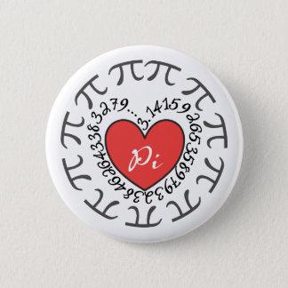 Love Pi 3.14 6 Cm Round Badge