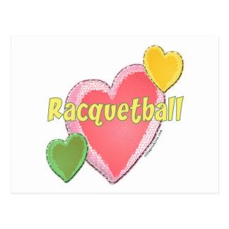 Love Racquetball Postcard