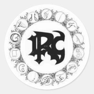 Love Rage Comedy - Avalon Classic Round Sticker