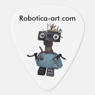Love Robots? Play Guitar? Get this pick here! Plectrum