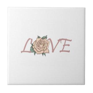LOVE ROSE CERAMIC TILE