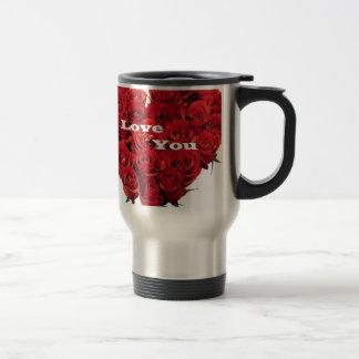 love roses. coffee mug