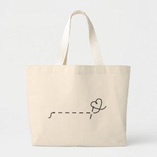 Love Sewing Jumbo Tote Bag