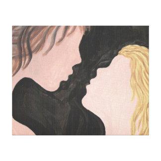 Love Simplicity Canvas Prints