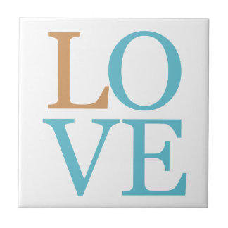 Love Small Square Tile