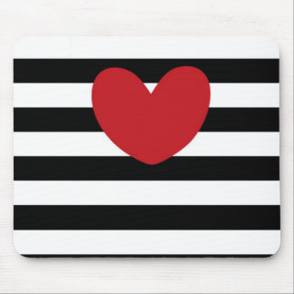 love stripes mouse pad
