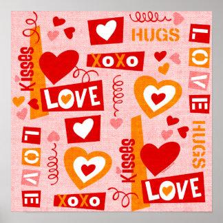Love Talk Valentine Print