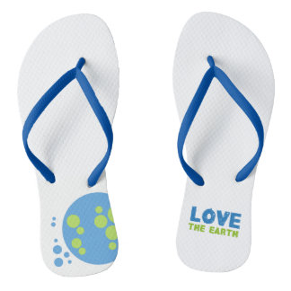 Love The Earth Flip Flop Thongs