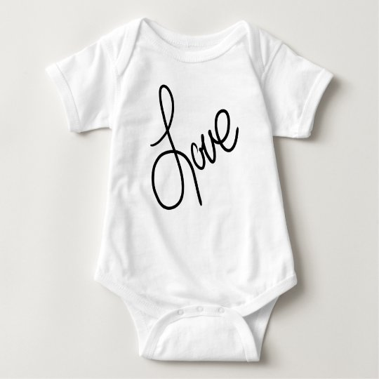 Love the Little One Baby Bodysuit
