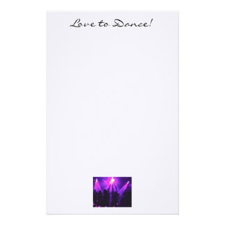 Love to Dance note paper T w/Dance Party logo